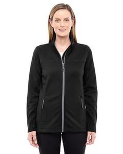 Ash City North End 78229 - Ladies Torrent Interactive Textured Performance Fleece Jacket