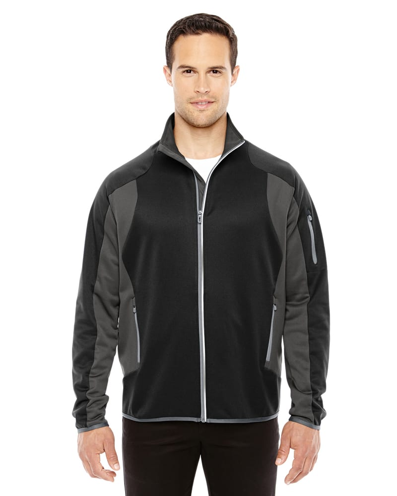 Ash City North End 88230 - Men's Motion Interactive ColorBlock Performance Fleece Jacket