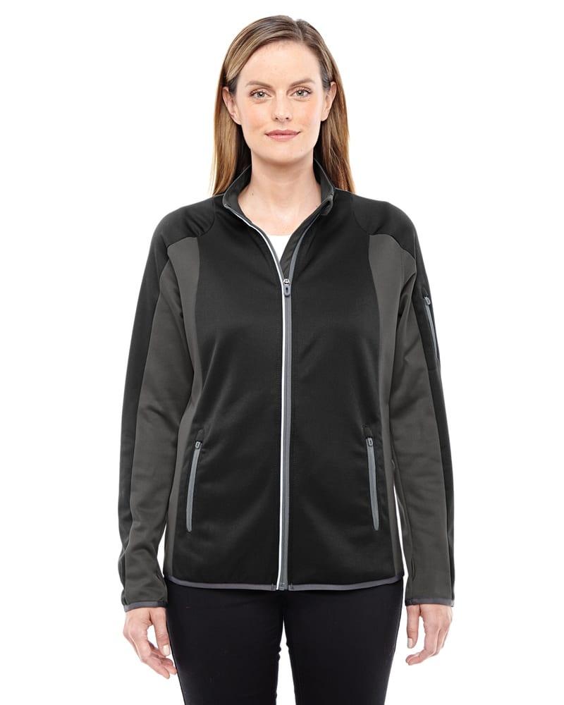 Ash City North End 78230 - Ladies Motion Interactive ColorBlock Performance Fleece Jacket