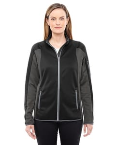 Ash City North End 78230 - Ladies Motion Interactive ColorBlock Performance Fleece Jacket