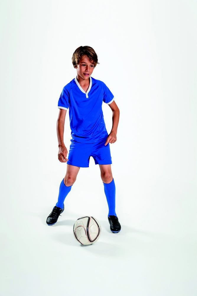 Sol's 01176 - Kids' Short-Sleeved Shirt Atletico