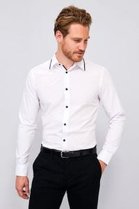 Sols 00567 - MENS LONG SLEEVE FITTED SHIRT BAXTER
