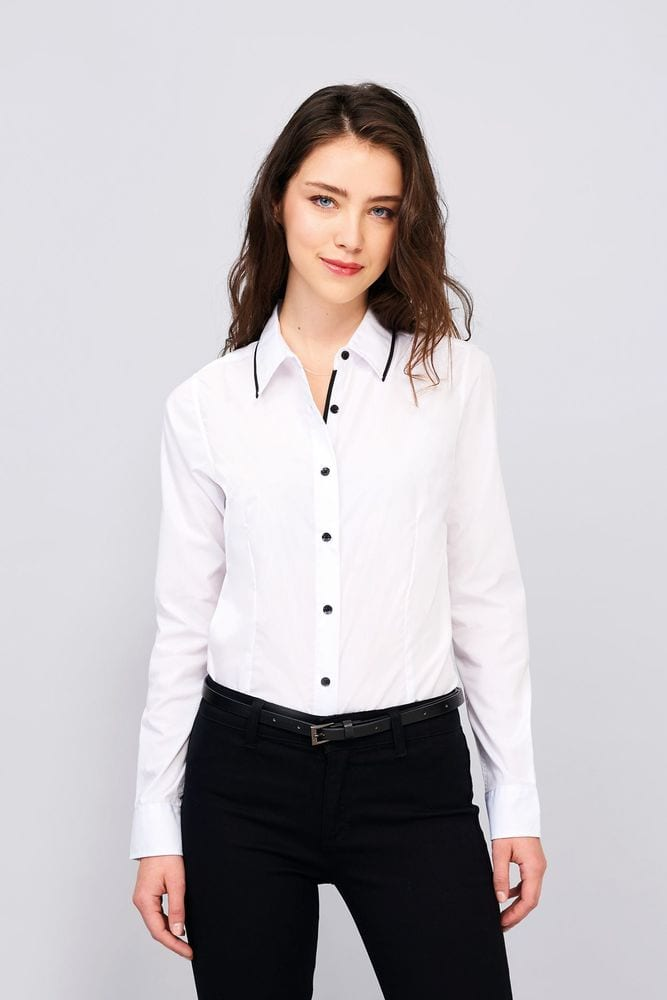 Sol's 00569 - Women's Long Sleeve Fitted Shirt Baxter