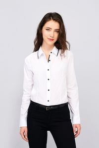 Sols 00569 - Womens Long Sleeve Fitted Shirt Baxter