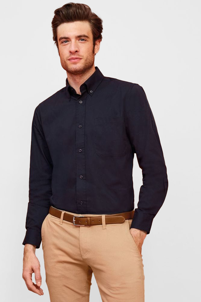 Sol's 16090 - Long Sleeve Cotton Twill Men's Shirt Bel Air