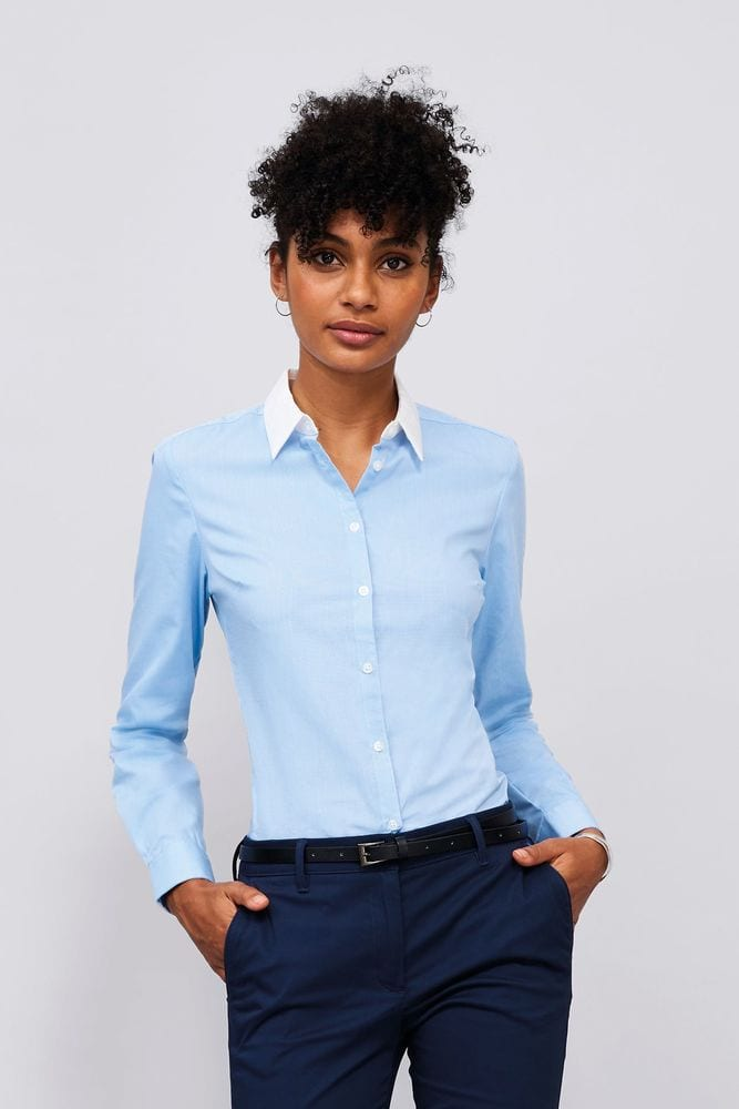 Sol's 01431 - WOMEN'S LONG SLEEVE END-TO-END SHIRT BELMONT