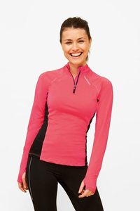 Sols 01417 - Womens Long Sleeve Running T-Shirt Berlin