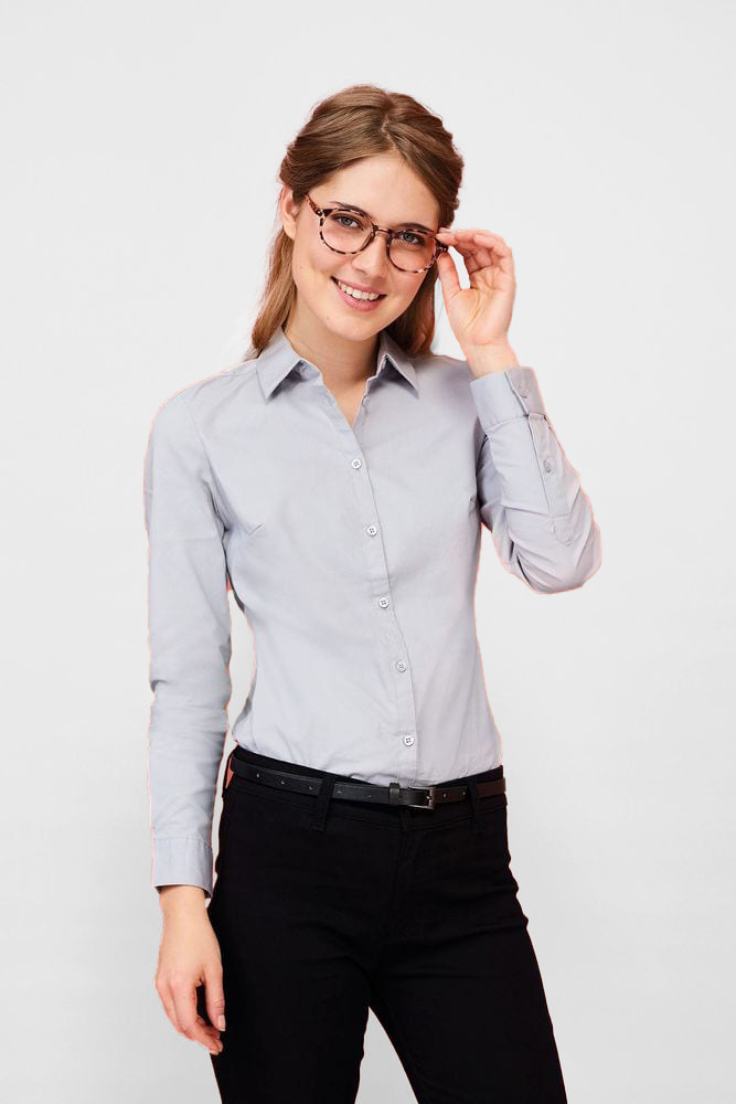 Sol's 01427 - Women's Long Sleeve Stretch Shirt Blake