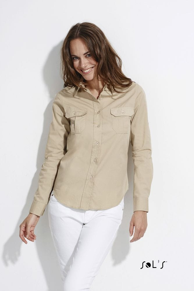 Sol's 16006 - Chemise Femme Manches Longues BOLIVIA