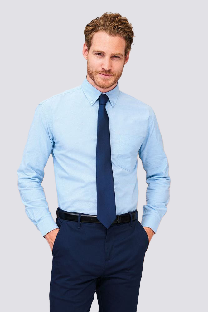 Sol's 16000 - Chemise Homme Oxford Manches Longues BOSTON