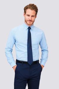 Sols 16000 - Long Sleeve Oxford Mens Shirt Boston
