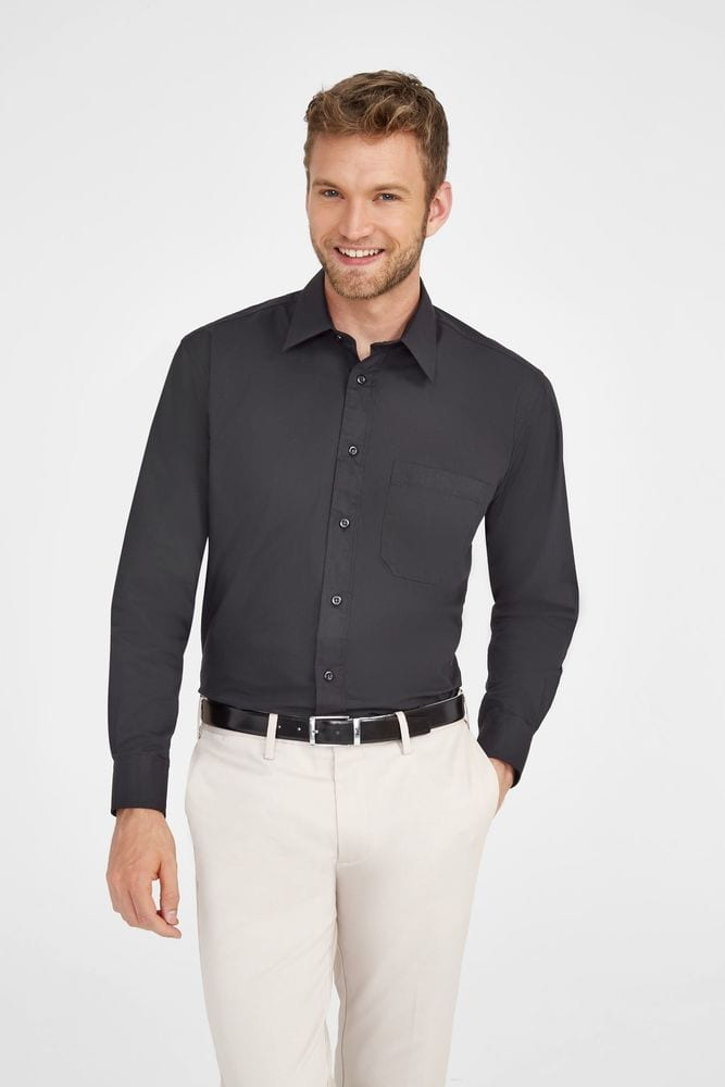 Sol's 17060 - Long Sleeve Poplin Men's Shirt Bradford