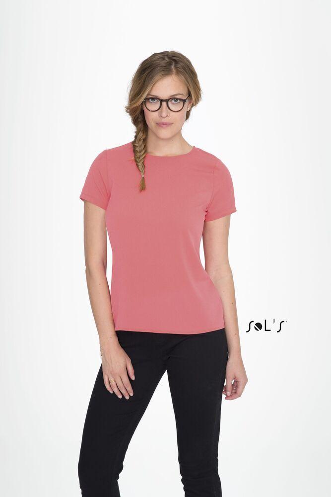 Sol's 01432 - Women's Short Sleeve Moss Crepe Shirt Bridget