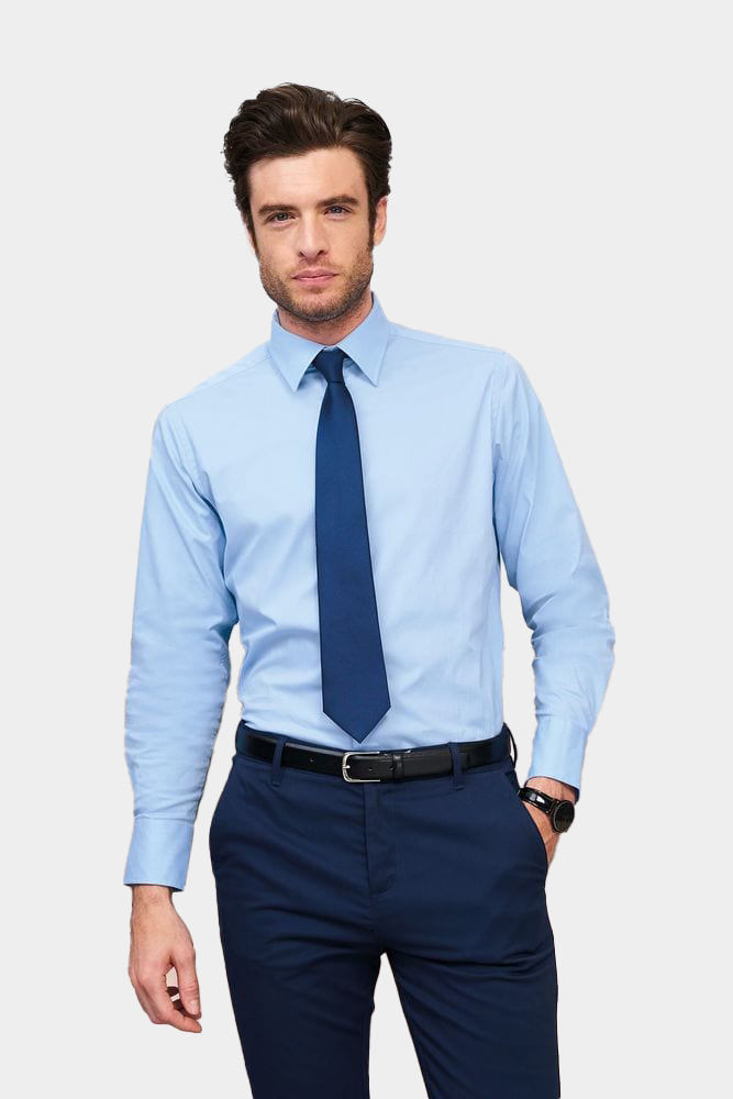 Sol's 17000 - Long Sleeve Stretch Men's Shirt Brighton