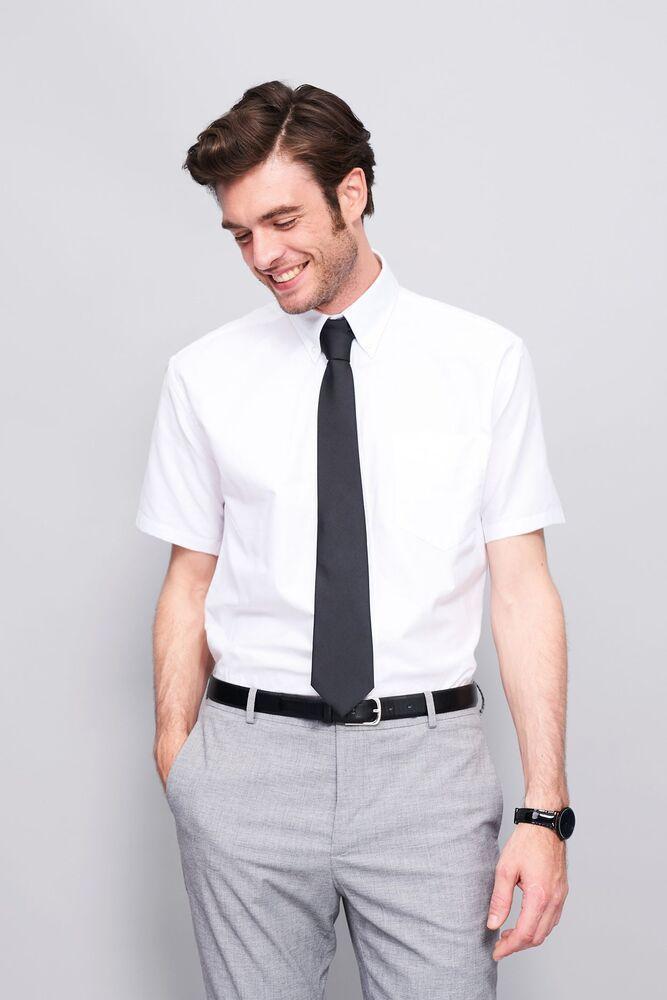 Sol's 16010 - Short Sleeve Oxford Men's Shirt Brisbane