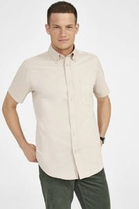 Sols 16080 - Short Sleeve Cotton Twill Mens Shirt Brooklyn