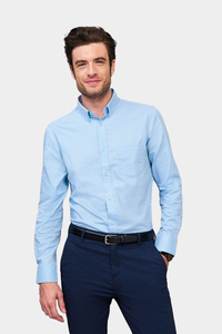 Sols 00551 - Mens Long Sleeve Shirt Business