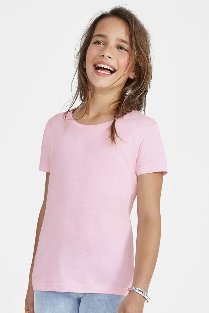 Sol's 11981 - Girls' T-Shirt Cherry
