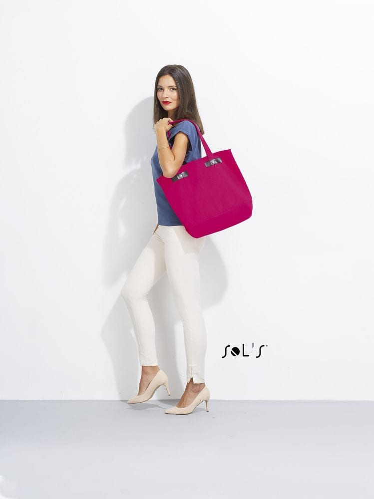 Sol's 00600 - CANVAS SHOPPING BAG CHIC
