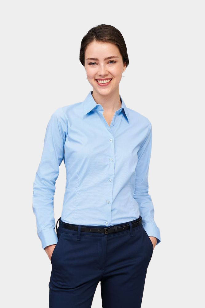 Sol's 17015 - Long Sleeve Stretch Women's Shirt Eden