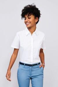 Sols 16030 - Short Sleeve Oxford Womens Shirt Elite