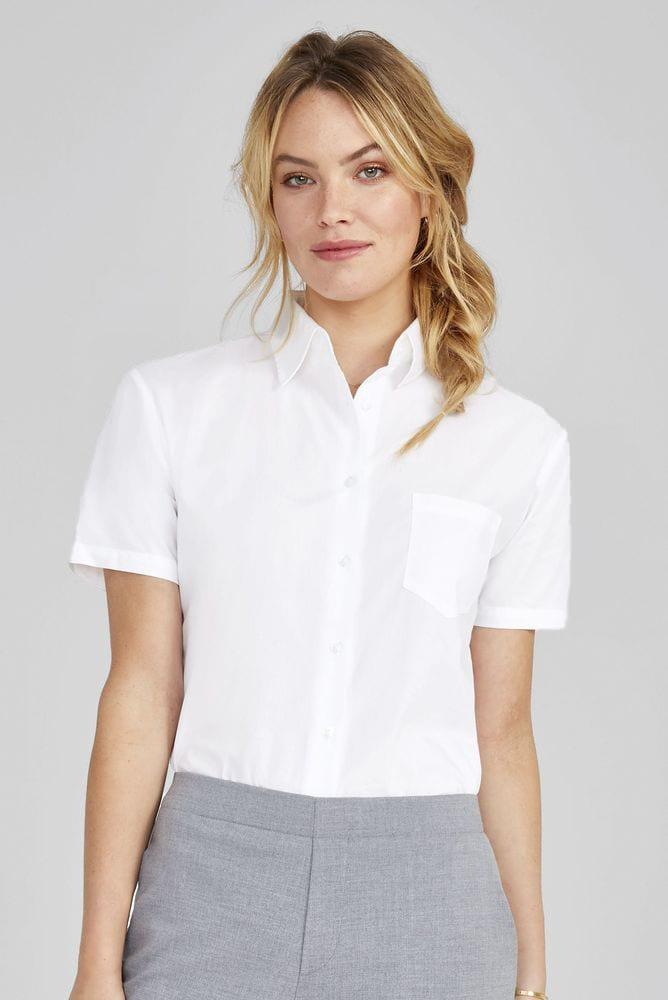 Sol's 17040 - Short Sleeve Poplin Women's Shirt Energy