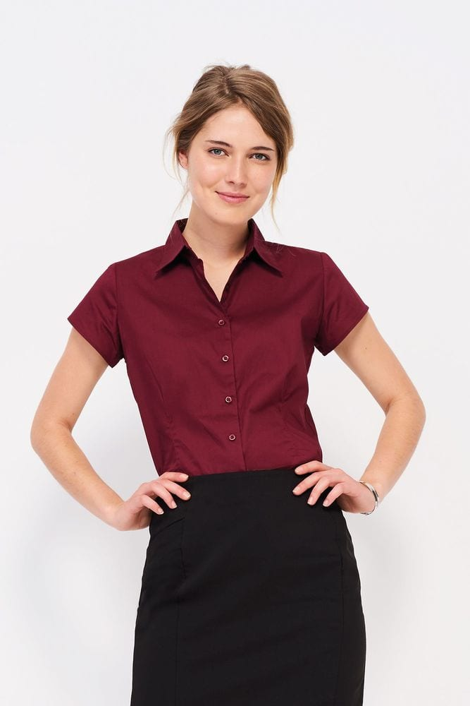 Sol's 17020 - Short Sleeve Stretch Women's Shirt Excess