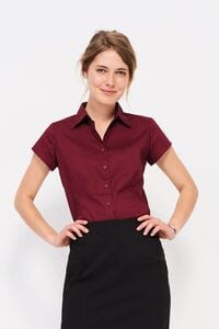 Sols 17020 - Damen Stretch Bluse Kurzarm Excess