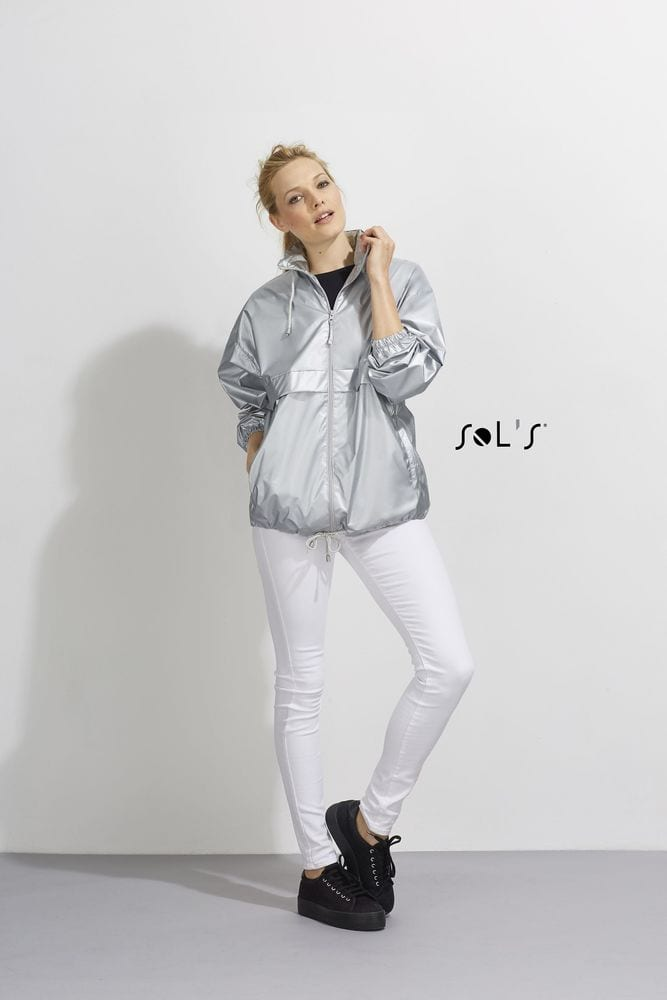 Sol's 32200 - UNISEX WATERPROOF WINDBREAKER FLASH