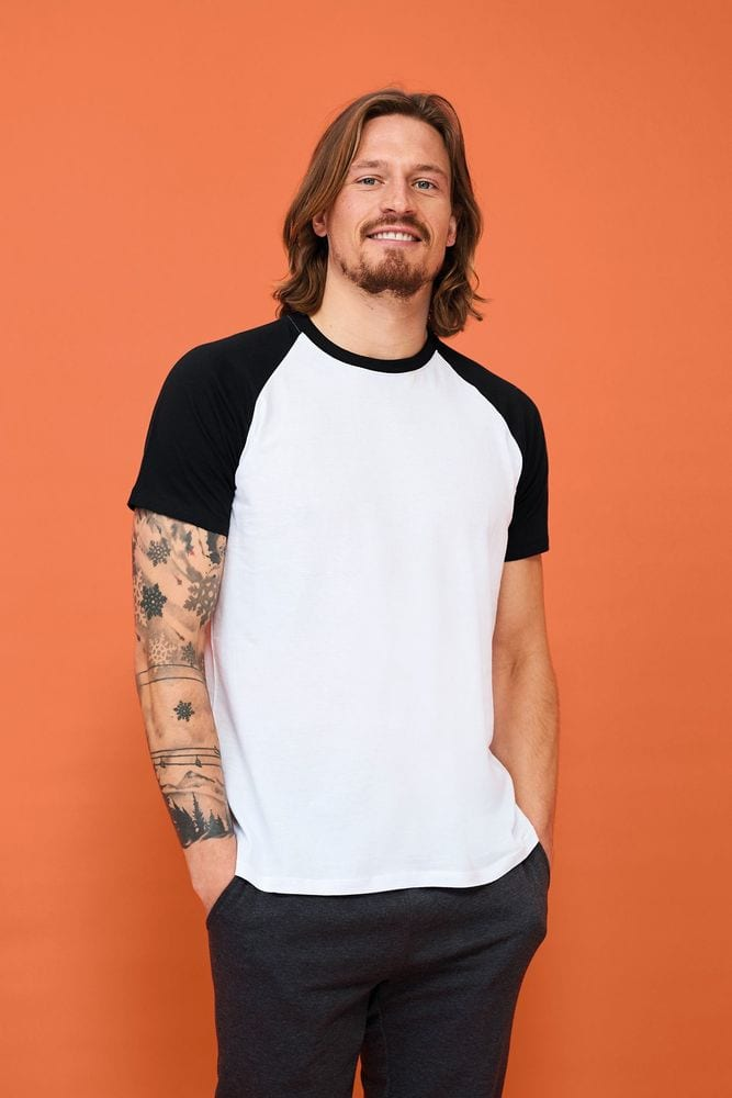Sol's 11190 - Men's 2-Colour Raglan Sleeve T-Shirt Funky