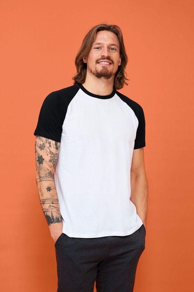 Sol's 11190 - Men's 2-Colour Raglan Sleeve T-Shirt Funky