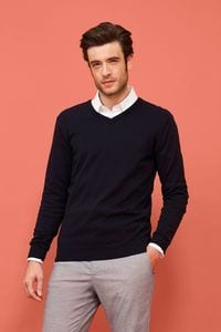 Sols 90000 - Mens V-Neck Sweater Galaxy