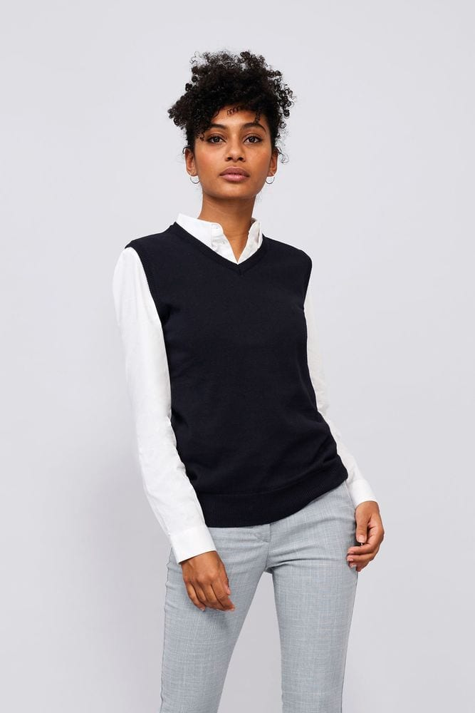 Sol's 00591 - Unisex Sleeveless Sweater Gentlemen