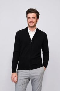 Sols 00548 - MENS ZIPPED KNITTED CARDIGAN GORDON