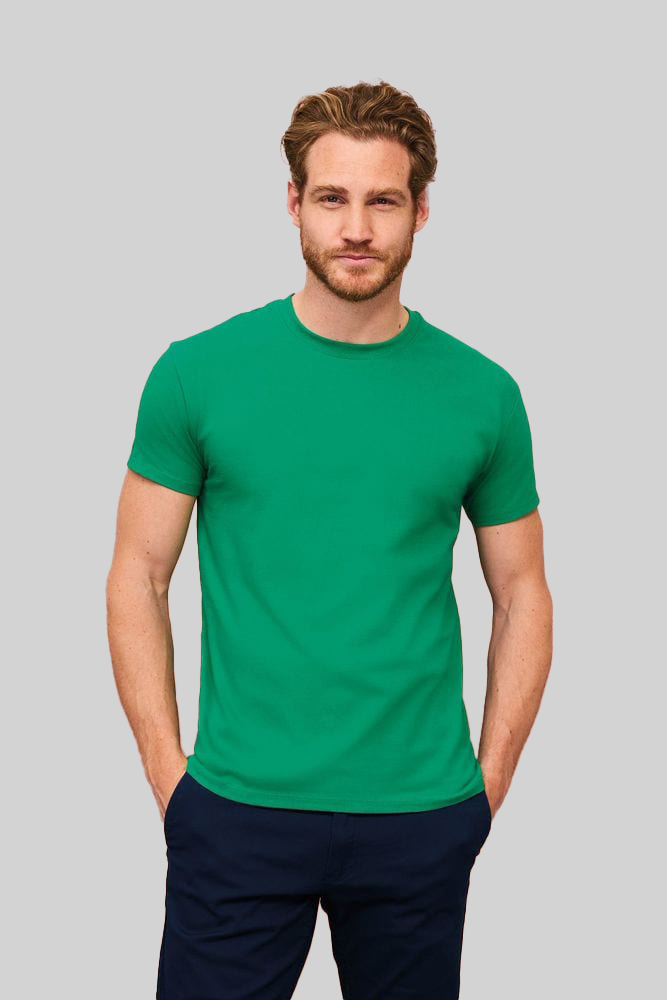 Sol's 11500 - MEN'S ROUND COLLAR T-SHIRT IMPERIAL