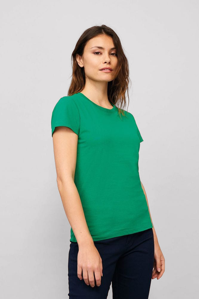 Sol's 11502 - WOMEN'S ROUND COLLAR T-SHIRT IMPERIAL