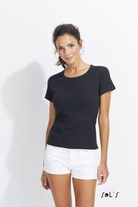 Sols 11830 - WOMENS ROUND COLLAR T-SHIRT LADY