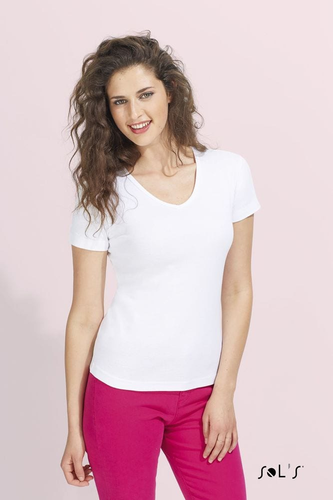 Sol's 11835 - WOMEN'S V-NECK T-SHIRT LADY V