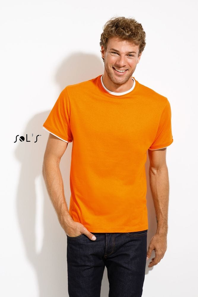 Sol's 11670 - MEN'S ROLLED AND RAW CUT FINISH T-SHIRT MADISON