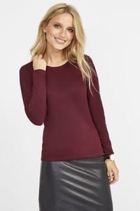Sols 11425 - Womens Round Collar Long Sleeve T-Shirt Majestic