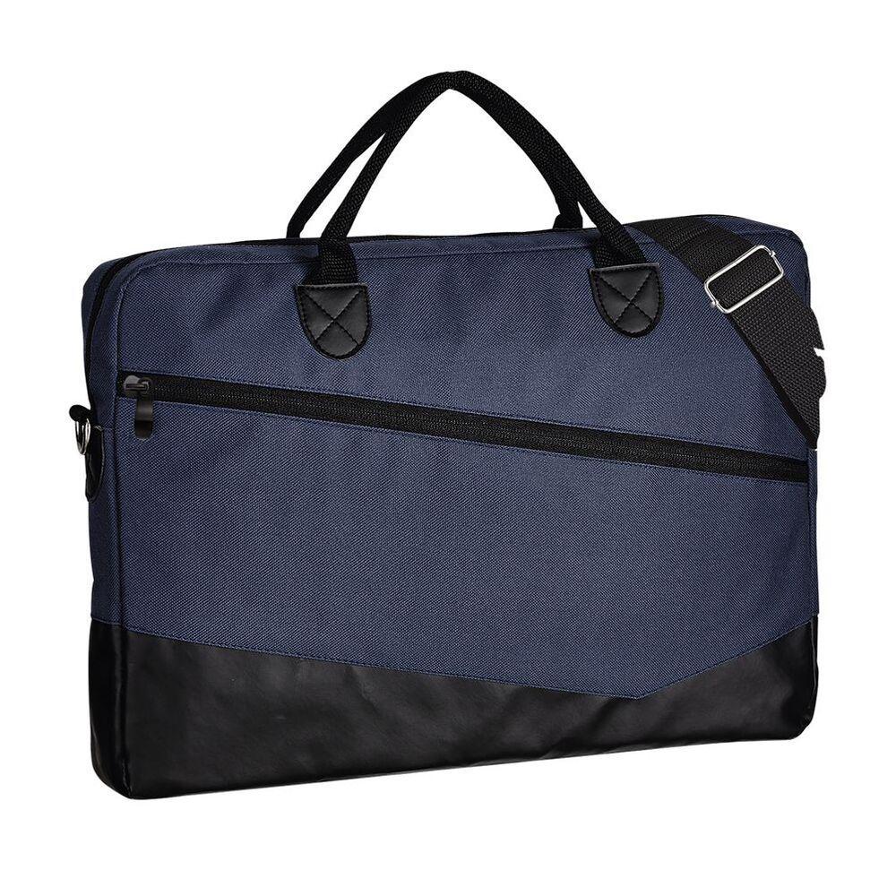Sol's 01395 - 600D Polyester Briefcase Manhattan