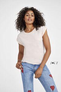 Sols 01406 - Womens Round Neck T-Shirt Melba