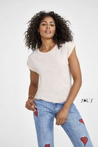 Sols 01406 - Womens Round Neck T-Shirt Melba