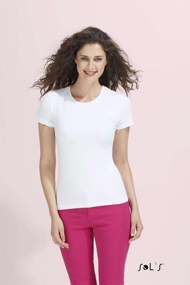 Sol's 11932 - TEE-SHIRT FEMME COL ROND MIAMI