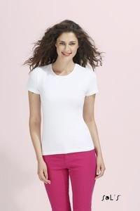 Sols 11932 - TEE-SHIRT FEMME COL ROND MIAMI