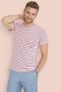 Sols 01398 - Mens Round Neck Striped T-Shirt Miles