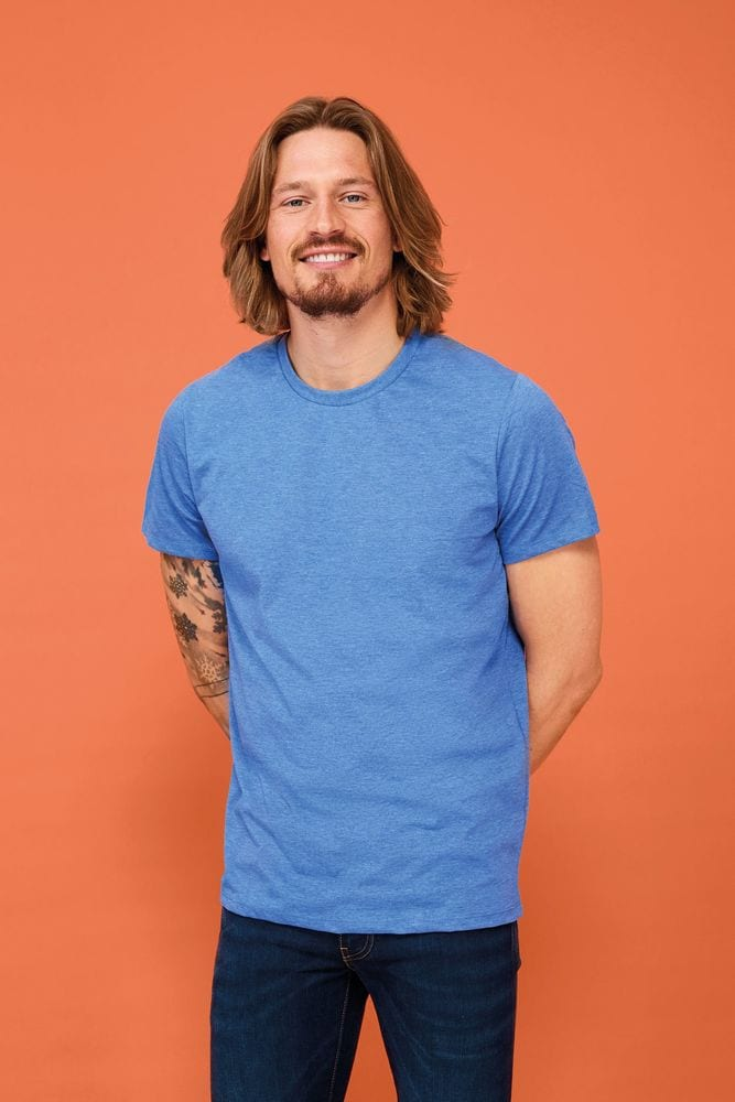 Sol's 01182 - MEN'S ROUND COLLAR T-SHIRT MIXED