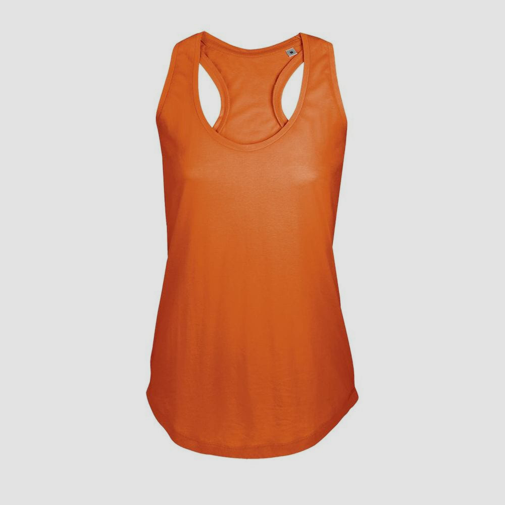 Sol's 00579 - Women's Racer Back Tank Top Moka
