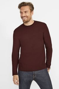 Sols 11420 - Mens Round Collar Long Sleeve T-Shirt Monarch