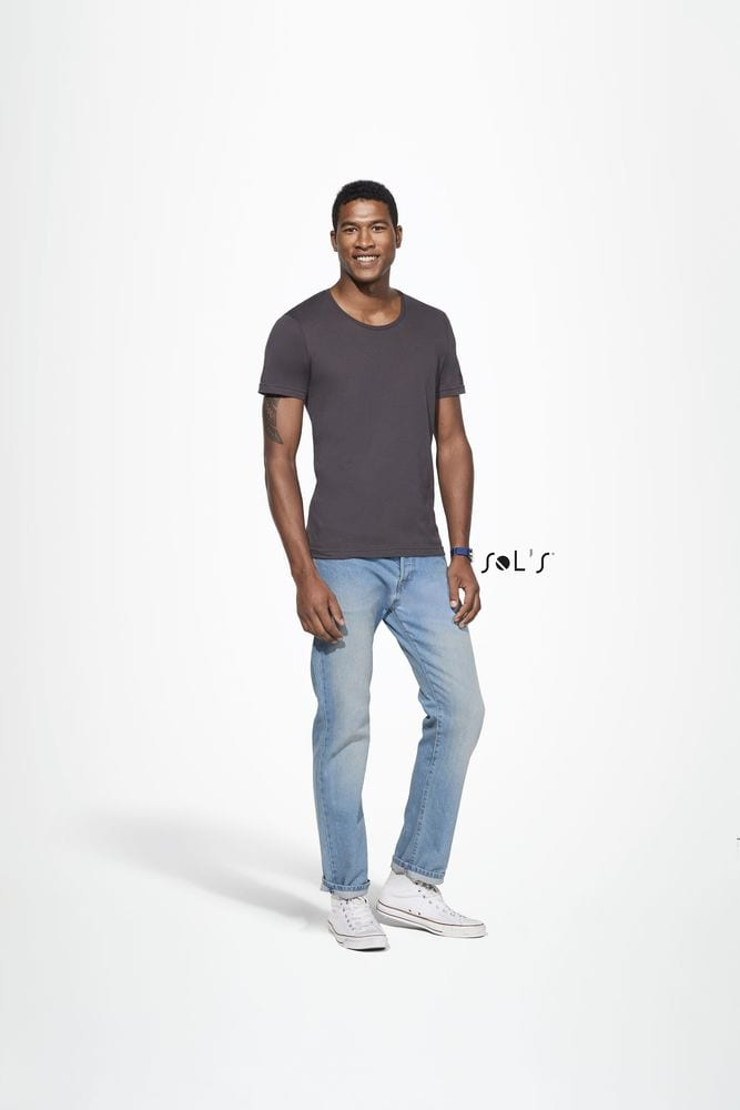 Sol's 11403 - Men's Round Neck Sheer Jersey T-Shirt Must